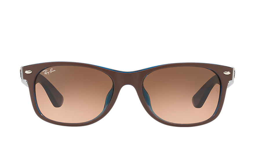 Ray-Ban  sunglasses RB2132F UNISEX 003 新徒步旅行者·混色 茶色 8053672794328