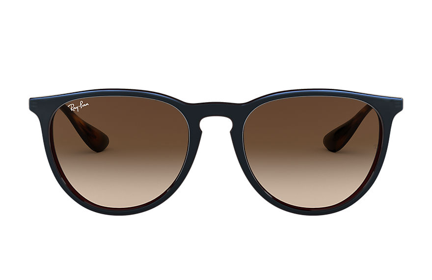 Ray-Ban  sunglasses RB4171F UNISEX 002 erika classic low bridge fit brown 8053672794489