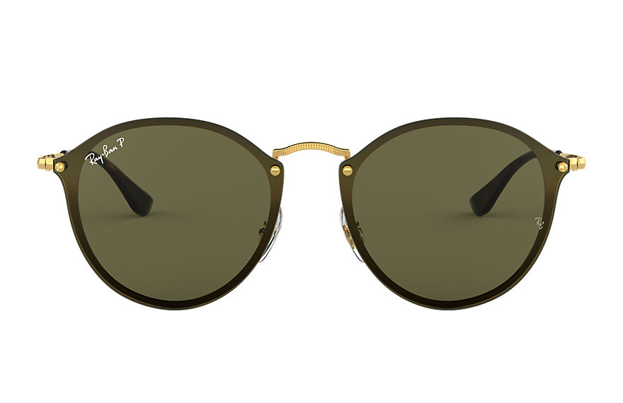 Ray-Ban  sunglasses RB3574N MALE 001 blaze round 金色 8053672794953