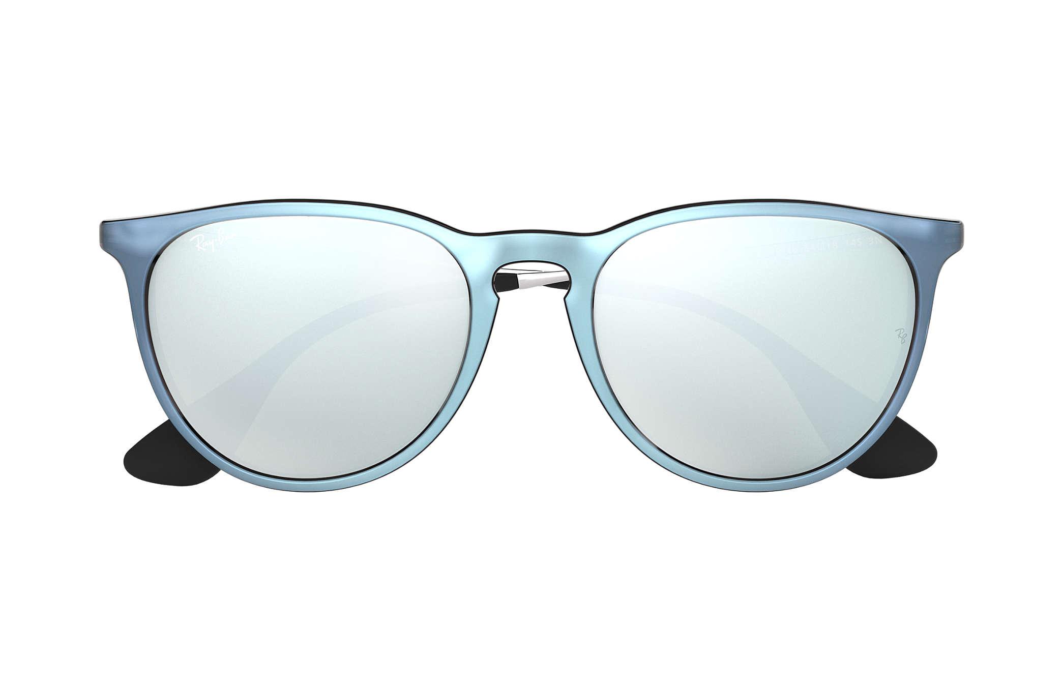 Ray-Ban Erika Color Mix RB4171 Grey - Nylon - Silver Lenses ... e8b08d60df3c5