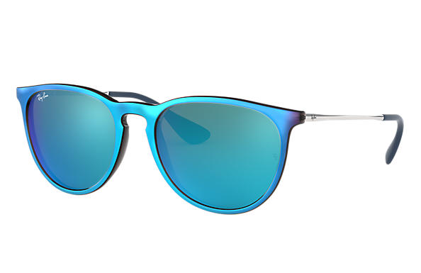 Ray-Ban 0RB4171F-ERIKA CLASSIC Blue; Silver SUN