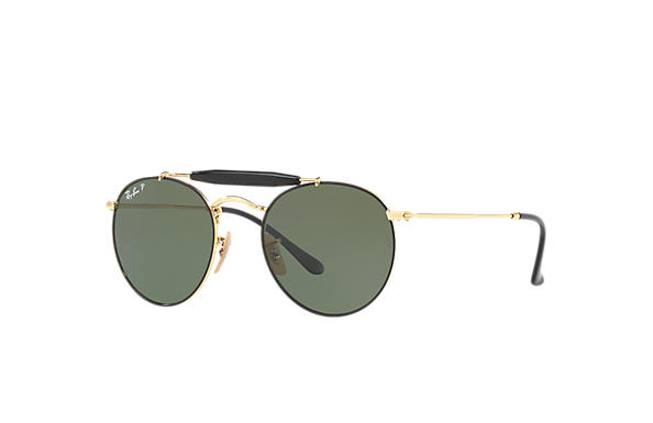 Ray-Ban 0RB3747-RB3747 Black,Gold; Gold SUN