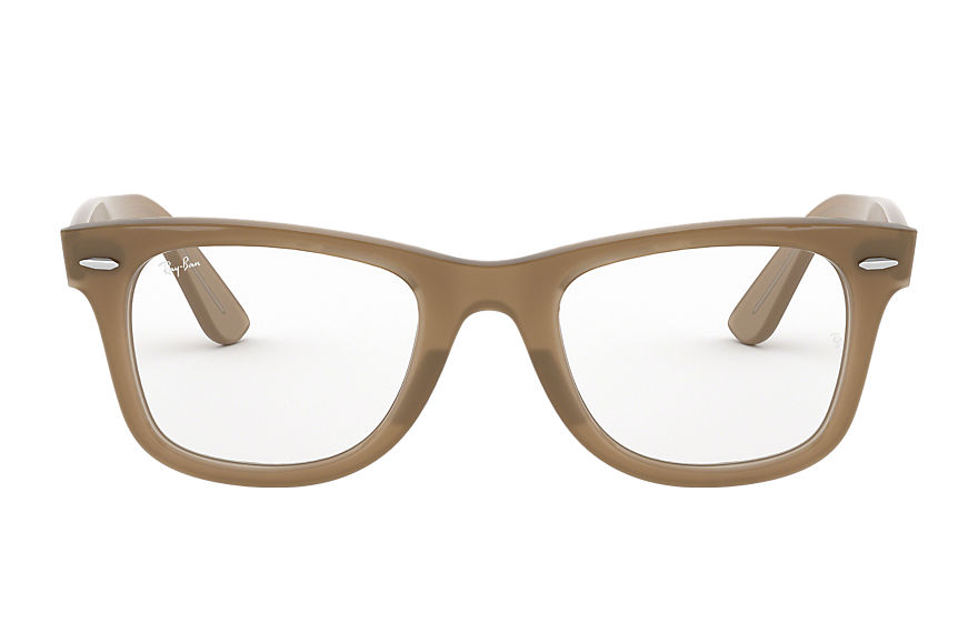 Ray-Ban  eyeglasses RX4340V UNISEX 004 wayfarer ease optics light brown 8053672808483