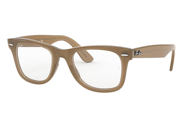 Ray-Ban 0RX4340V-WAYFARER EASE OPTICS Light Brown OPTICAL