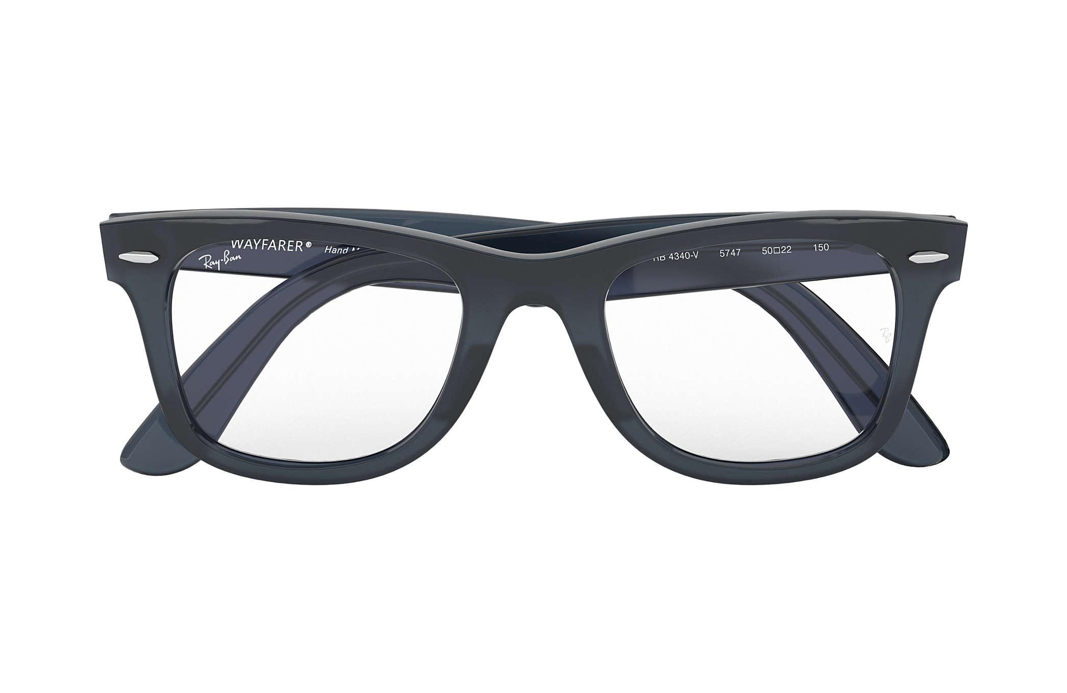 9e1b1ab0a0 Ray-Ban eyeglasses Wayfarer Ease Optics RB4340V Blue - Propionate ...