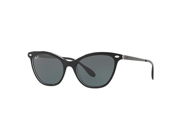 Ray-Ban 0RB4360-RB4360 Black,Transparent; Black SUN