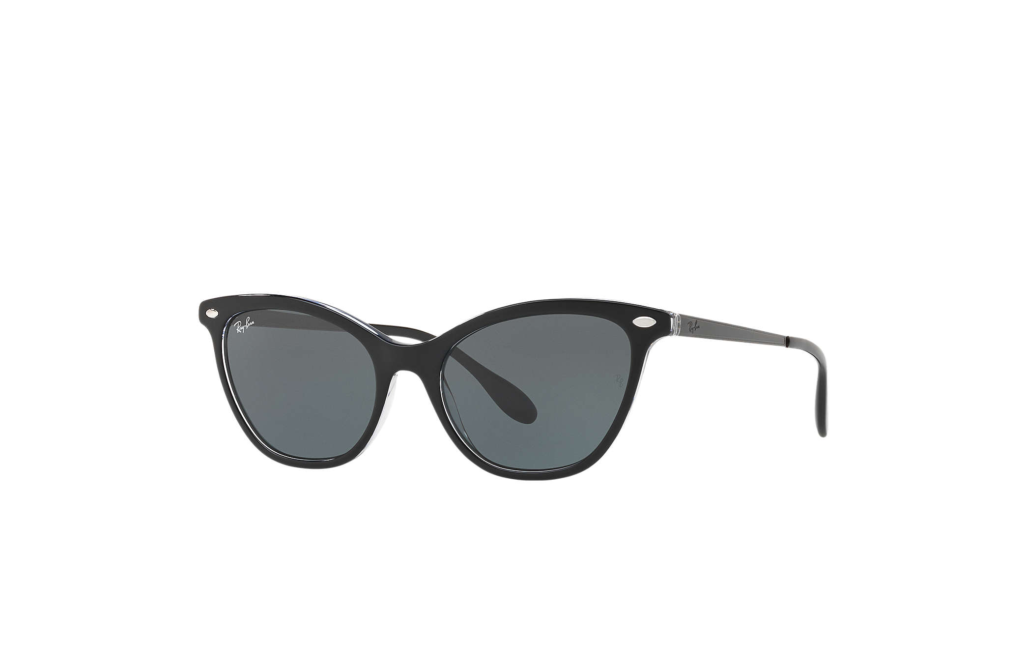 fd9b0a1d872 Ray-Ban RB4360 Black - Acetate - Green Lenses - 0RB4360919 7154 ...