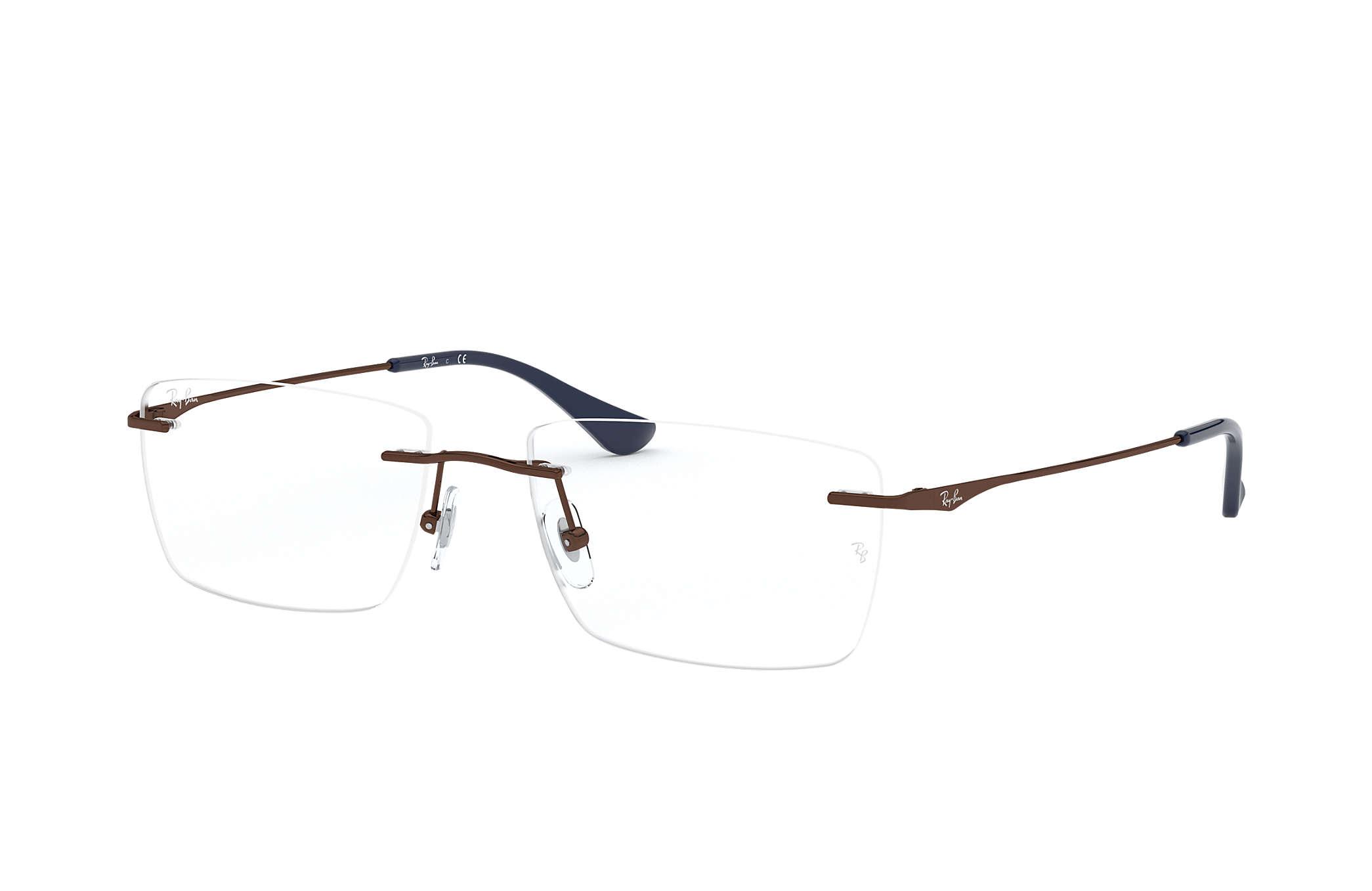b001c68ed56 Ray-Ban eyeglasses RB6411D Brown - Metal - 0RX6411D253156