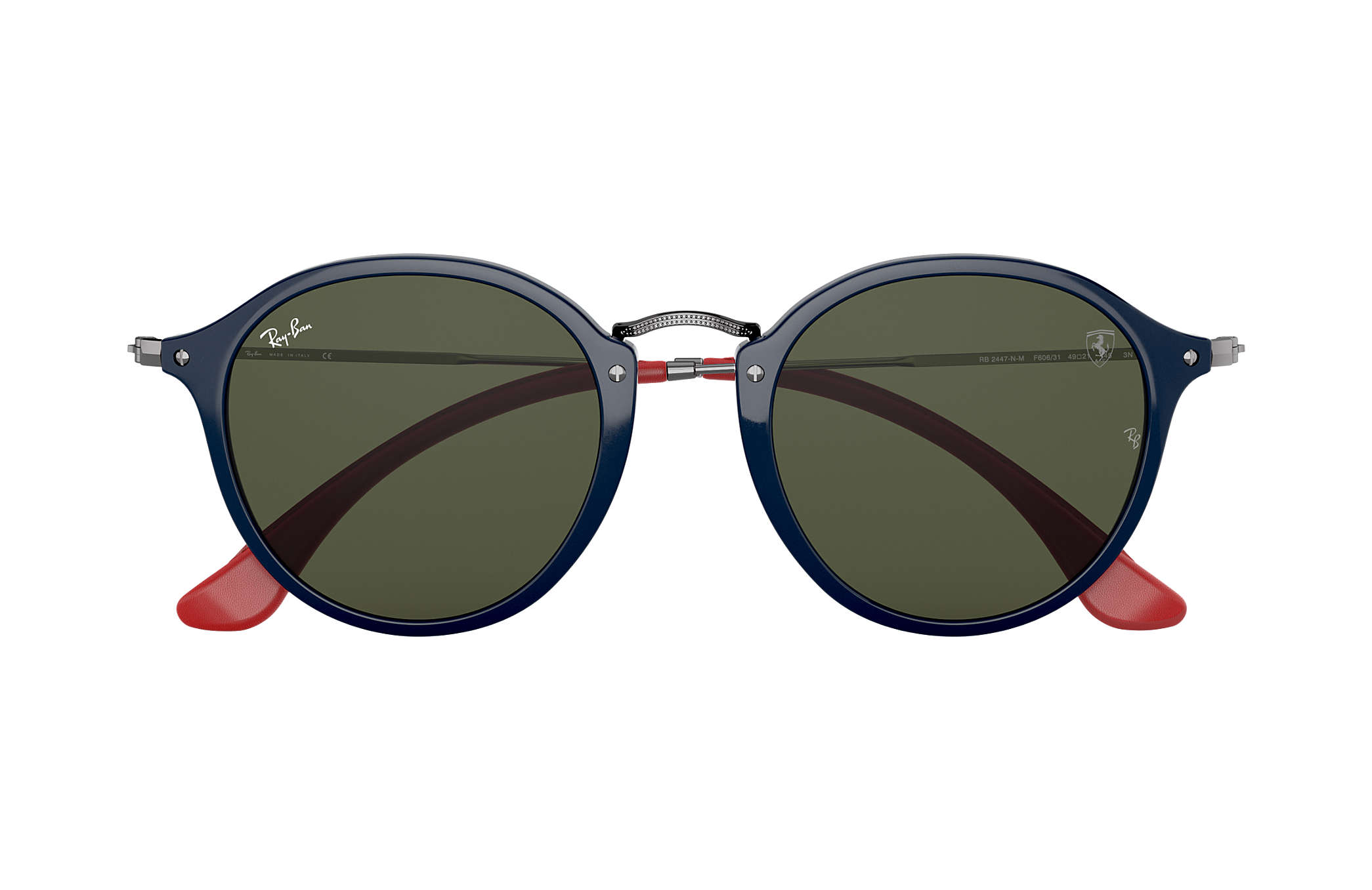 084b4ba218 ... Ray-Ban 0RB2447NM-RB2447NM SCUDERIA FERRARI COLLECTION Blue  Gunmetal  SUN ...