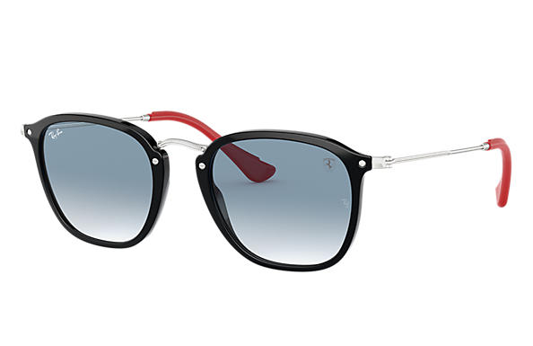Ray-Ban 0RB2448NM-RB2448NM SCUDERIA FERRARI COLLECTION Schwarz; Silber SUN