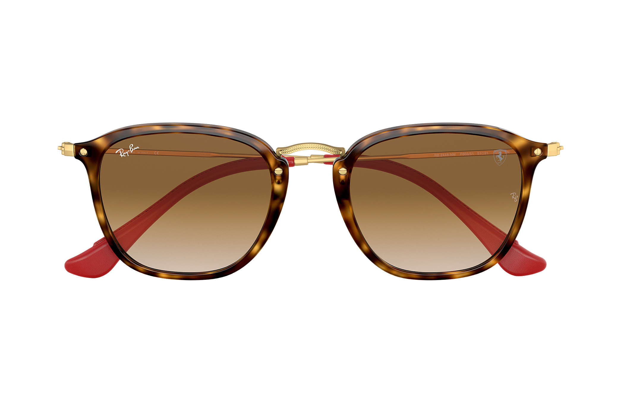 933a1f1d230a0 ... Ray-Ban 0RB2448NM-RB2448NM SCUDERIA FERRARI COLLECTION Tortoise  Gold  SUN ...