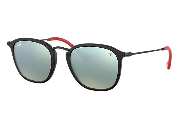 b6a8d35a53 Ray-Ban Rb2448nm Scuderia Ferrari Collection RB2448NM Blue - Acetate -  Green Lenses - 0RB2448NMF6063151