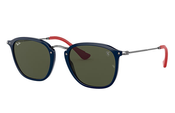 250e436d877c Ray-Ban 0RB2448NM-RB2448NM SCUDERIA FERRARI COLLECTION Blue  Gunmetal SUN