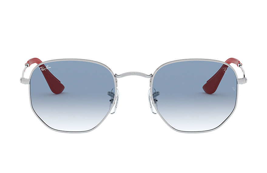 Ray-Ban  sonnenbrillen RB3548NM UNISEX 004 rb3548nm scuderia ferrari collection silber 8053672819489