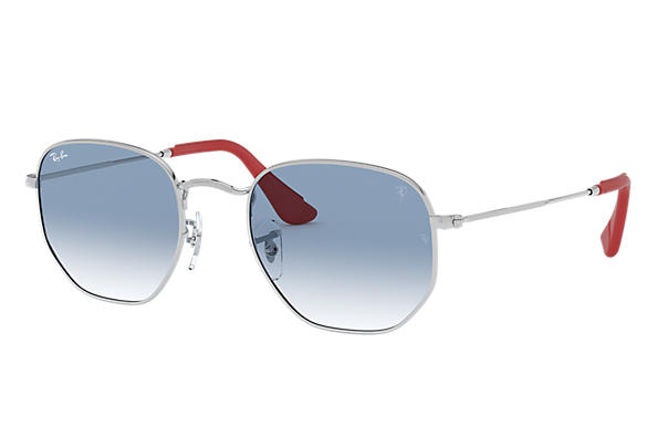 09c2ec77166 Ray-Ban Rb3548nm Scuderia Ferrari Collection RB3548NM Silver - Metal ...