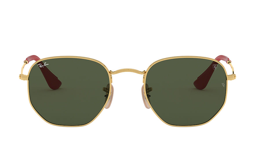 Ray-Ban  sonnenbrillen RB3548NM UNISEX 002 rb3548nm scuderia ferrari collection gold 8053672819496