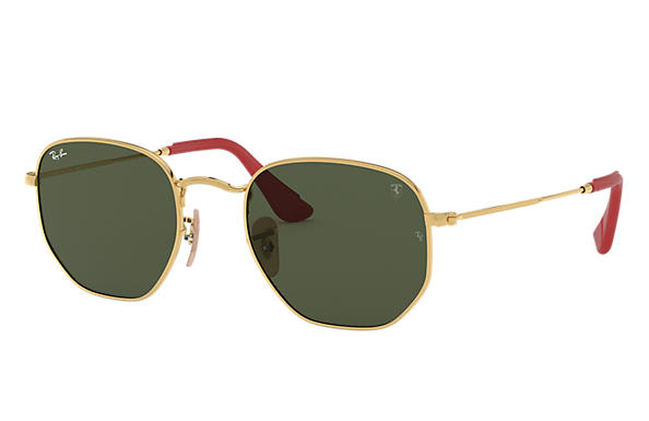 Ray-Ban 0RB3548NM-RB3548NM SCUDERIA FERRARI COLLECTION Oro SUN