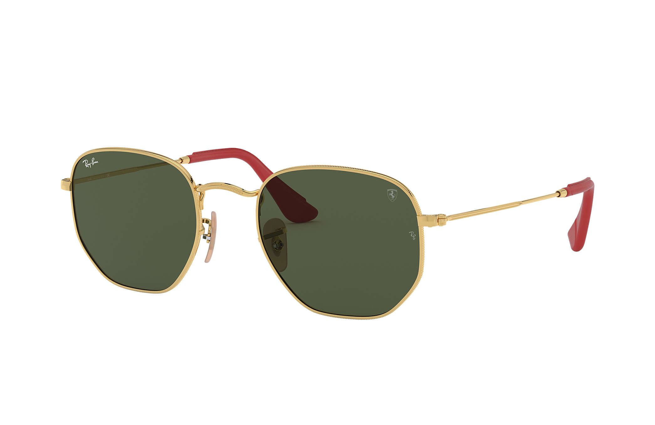 d6424475ce Ray-Ban Rb3548nm Scuderia Ferrari Collection RB3548NM Gold - Metal ...