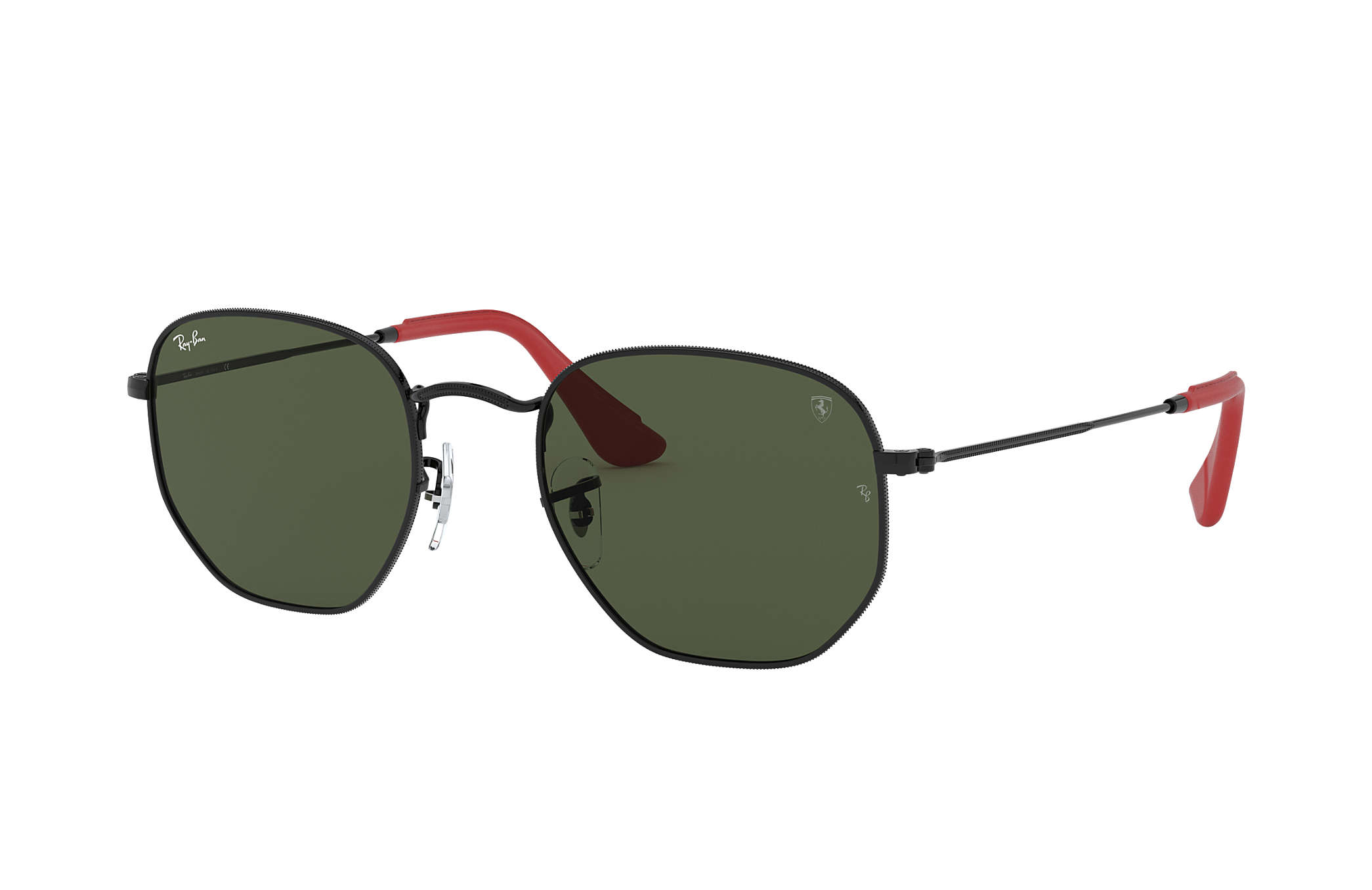 Ray-Ban Rb3548nm Scuderia Ferrari Collection RB3548NM Black - Metal ... 64ced93bf7