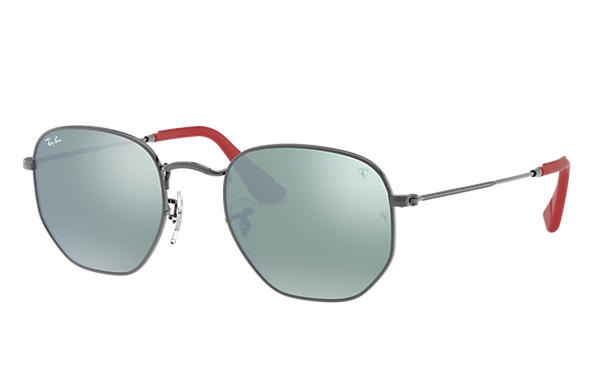 6226cb1c55 Ray-Ban 0RB3548NM-RB3548NM SCUDERIA FERRARI COLLECTION Gunmetal SUN