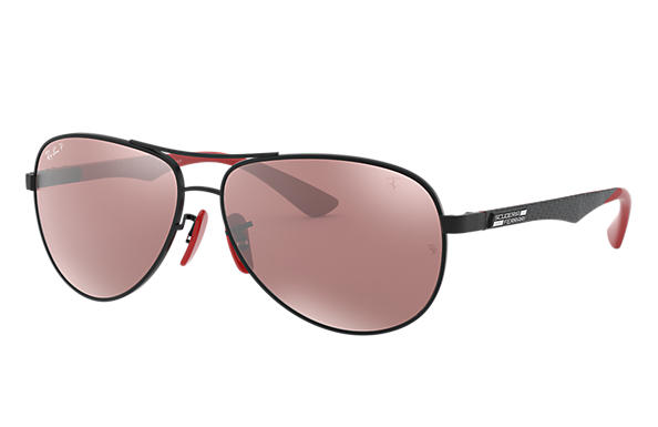Ray-Ban 0RB8313M-RB8313M SCUDERIA FERRARI COLLECTION Noir; Noir,Rouge SUN