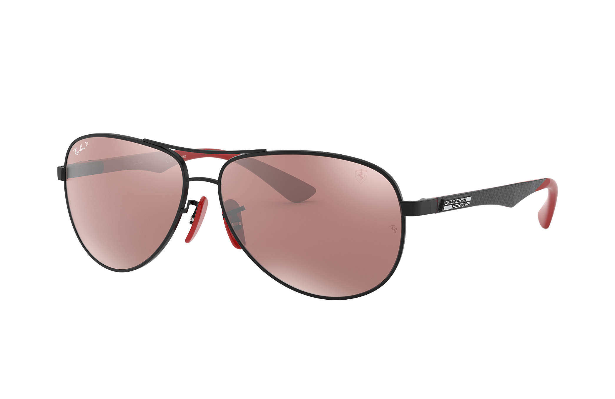 9aded9829f1ad1 Ray-Ban Rb8313m Scuderia Ferrari Collection RB8313M Black - Carbon ...