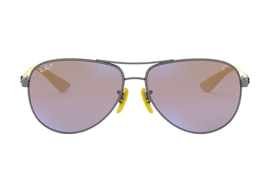 Ray-Ban  sonnenbrillen RB8313M MALE 002 rb8313m scuderia ferrari collection gunmetal 8053672819601