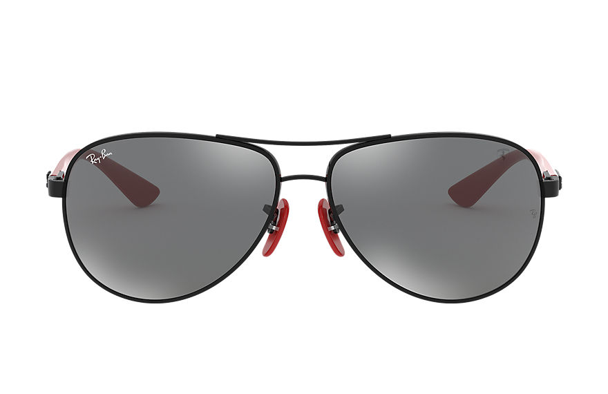 Ray-Ban		 Sunglasses RB8313M SCUDERIA FERRARI COLLECTION Zwart met brillenglas Grijs Spiegel