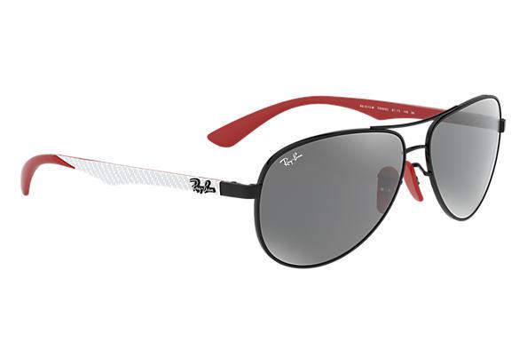 Ray-Ban RB8313M Black Black,Red, Grey Lenses   Ray-Ban® HongKong