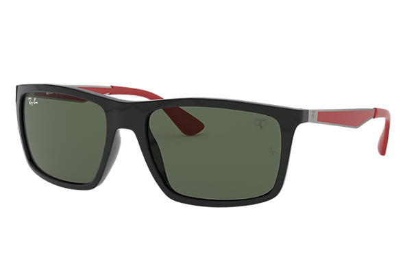 Ray-Ban 0RB4228M-RB4228M SCUDERIA FERRARI COLLECTION Schwarz; Gunmetal,Rot SUN