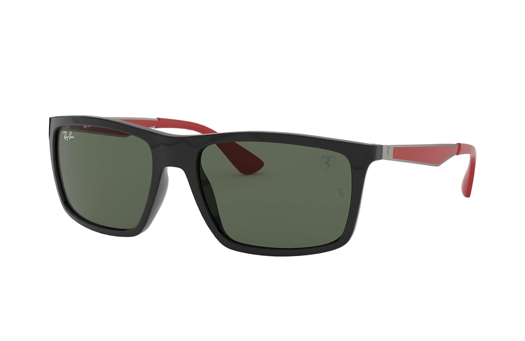 1760a4431d ... reduced ray ban 0rb4228m rb4228m scuderia ferrari collection black  gunmetalred sun 18df5 b6d9b