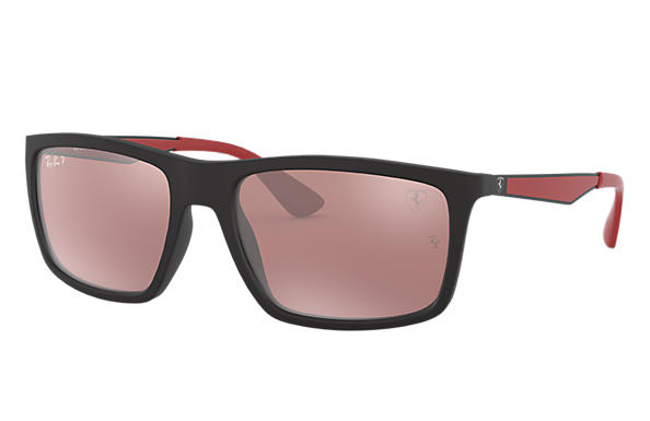 Ray-Ban 0RB4228M-RB4228M SCUDERIA FERRARI COLLECTION Black; Black,Red SUN