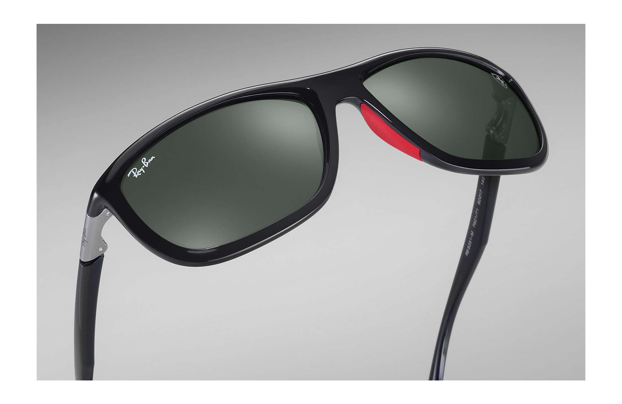 e00aa498efd8 ... Ray-Ban 0RB8351M-RB8351M SCUDERIA FERRARI COLLECTION Black SUN ...