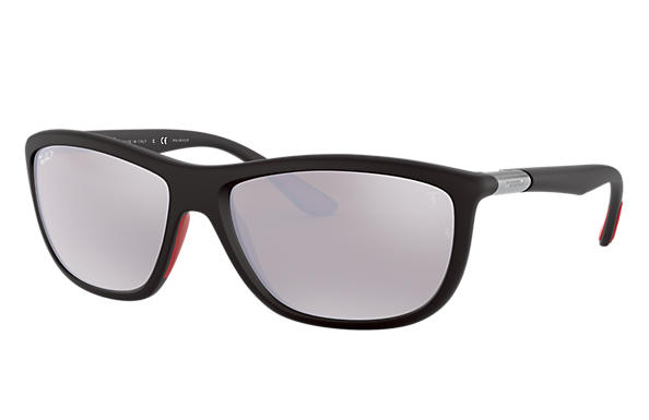 Ray-Ban 0RB8351M-RB8351M SCUDERIA FERRARI COLLECTION Black SUN