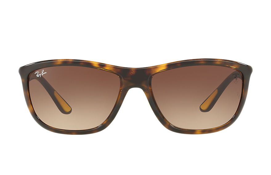 Ray-Ban RB8351M SCUDERIA FERRARI COLLECTION Tortoise with Brown Gradient lens