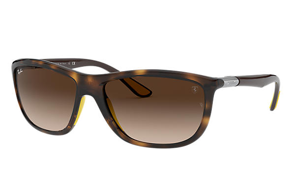 Ray-Ban 0RB8351M-RB8351M SCUDERIA FERRARI COLLECTION Havana; Braun SUN