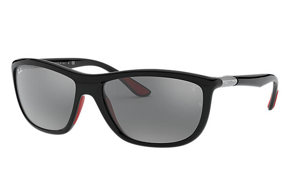 Ray-Ban 0RB8351M-RB8351M SCUDERIA FERRARI COLLECTION Grey; Black SUN