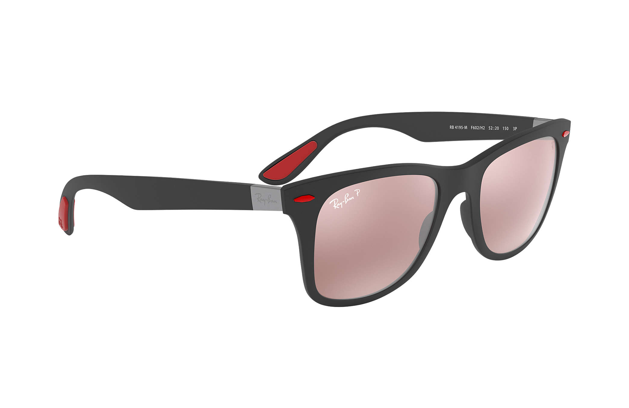 c3b9ef5a0a Ray-Ban Rb4195m Scuderia Ferrari Collection RB4195M Nero - Liteforce ...