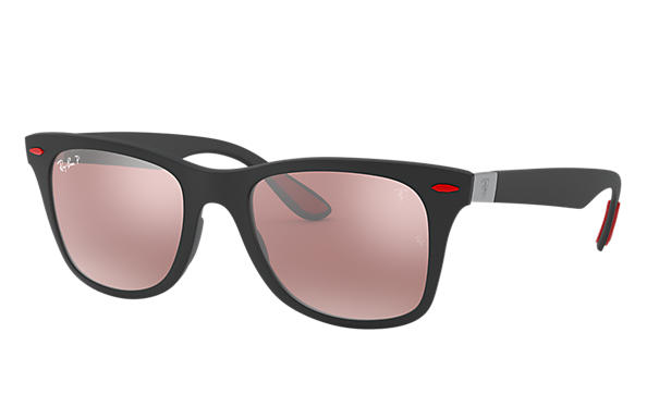 Ray-Ban 0RB4195M-RB4195M SCUDERIA FERRARI COLLECTION Nero SUN