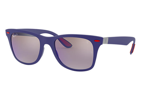 d54b986019 Ray-Ban Rb4195m Scuderia Ferrari Collection RB4195M Blue - Liteforce ...
