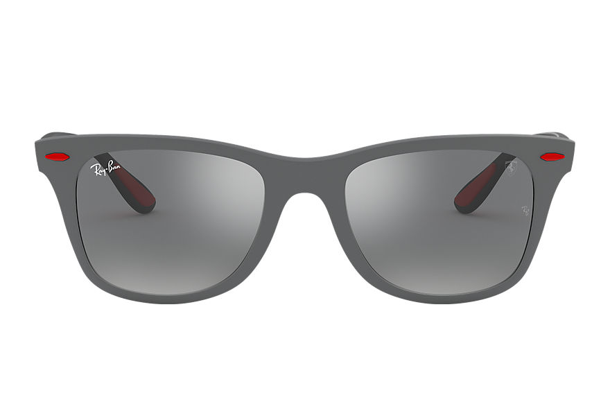 Ray-Ban  sonnenbrillen RB4195M MALE 004 rb4195m scuderia ferrari collection grau 8053672819786