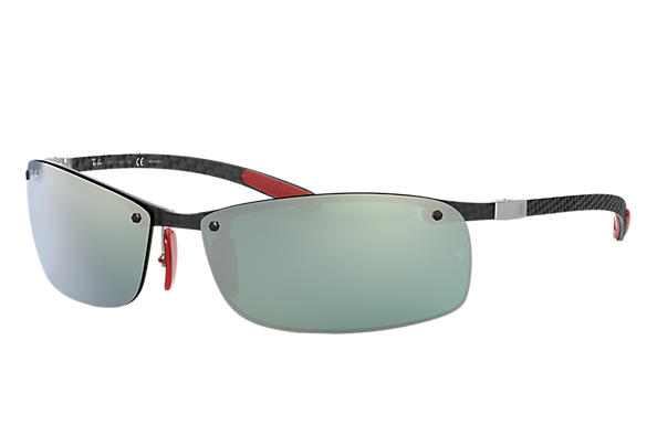 Ray-Ban 0RB8305M-RB8305M SCUDERIA FERRARI COLLECTION Noir SUN