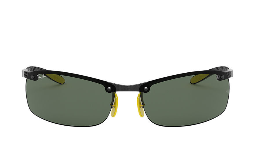 Ray-Ban		 Sunglasses RB8305M SCUDERIA FERRARI COLLECTION Zwart met brillenglas Groen Klassiek