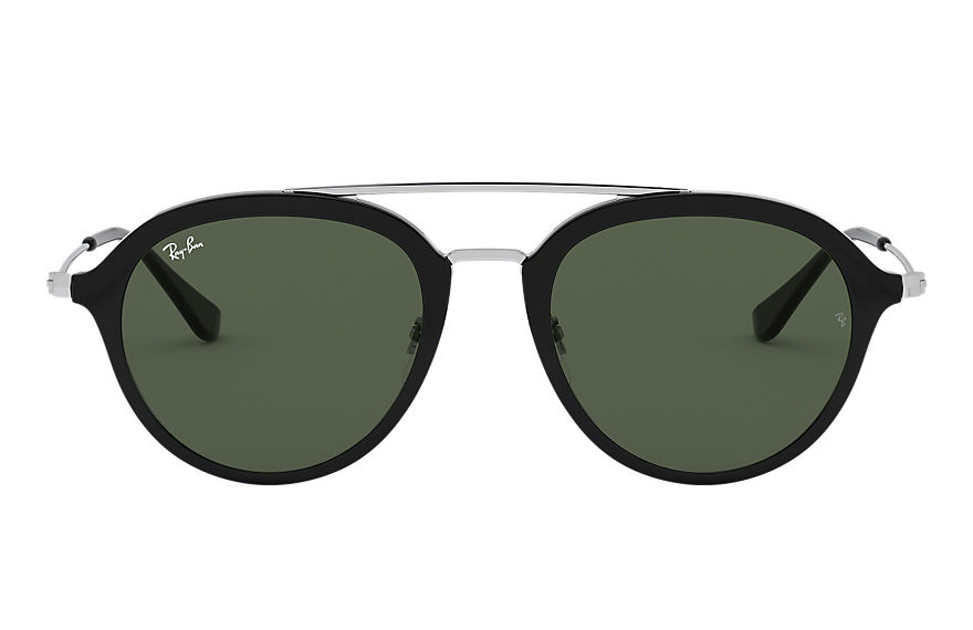 Ray-Ban RJ9065S Black with Green Classic lens