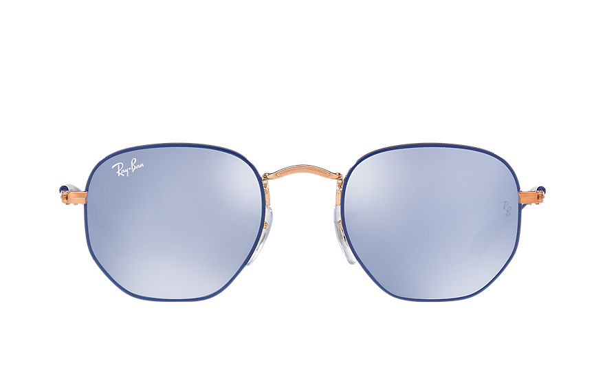 Ray-Ban  sunglasses RJ9541SN CHILD 005 hexagonal junior blue 8053672820928