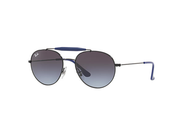 Ray-Ban RJ9542S Black with Grey Gradient lens