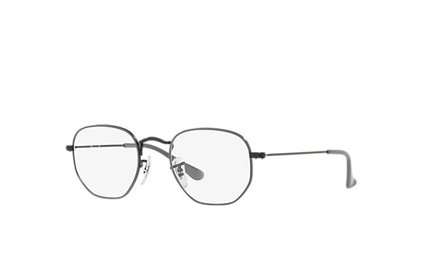 Ray-Ban		 0RY9541V-HEXAGONAL JUNIOR OPTICS Gris,Noir; Noir OPTICAL
