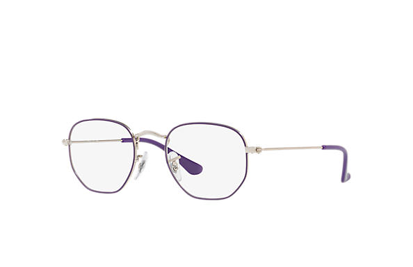 Ray-Ban 0RY9541V-HEXAGONAL JUNIOR OPTICS Violet,Argent; Argent OPTICAL