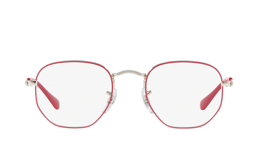 Ray-Ban Eyeglasses HEXAGONAL JUNIOR OPTICS Purple-Reddish