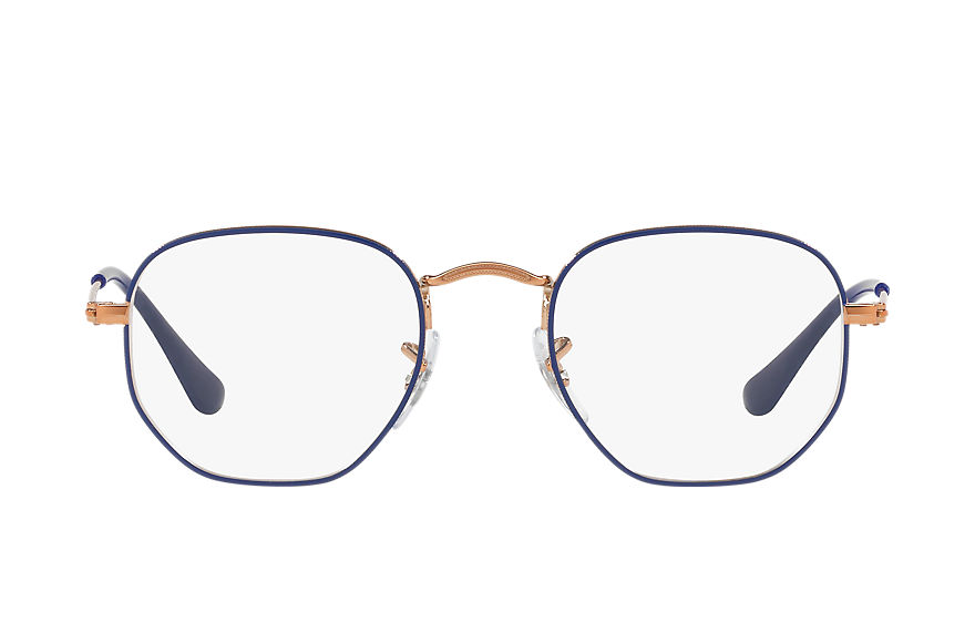 Ray-Ban  gafas de visión RY9541V CHILD 005 hexagonal junior optics azul 8053672821406
